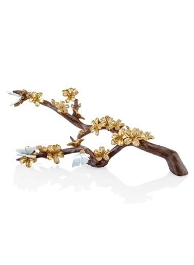 The Mia Dekor Sakura 63 Cm (Kiraz Çiçeği) Altın